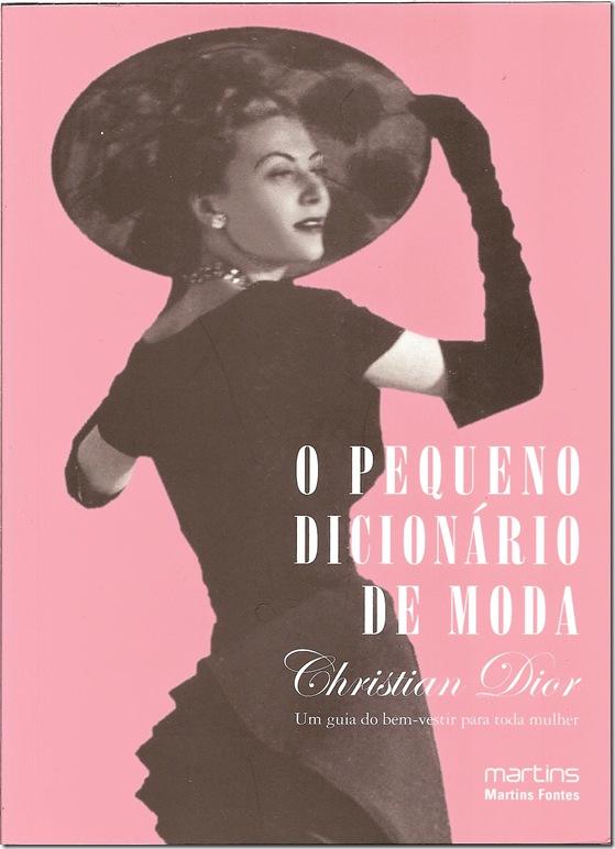 O pequeno Dicionário de Moda CD 1954 (capa)